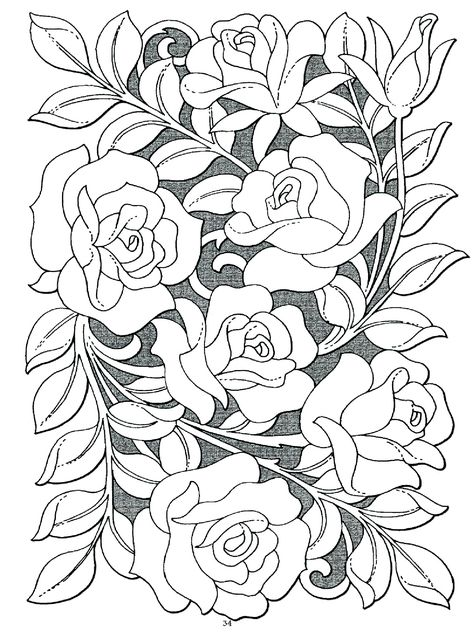 adult coloring pages free to print | Nature Beauty Coloring Pages ...