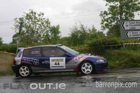 Honda Civic Eg6 Rally Car Class 9 B Series 1400 Keith Mc Mullan