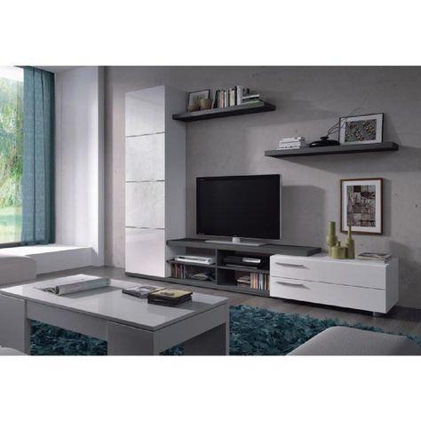 impressionnant ensemble meuble tele   Décoration française in 2019 ...