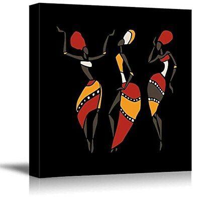 Wall26 Canvas Prints Wall Art African Dancers Cvs Rf 1435 16x16x1 50 Fashion Home Garden Homedcor African Wall Art Mini Canvas Art Wall Art Canvas Prints