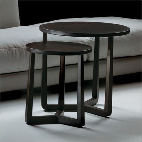 Klein Design Bijzettafeltje.Flexform Bijzettafel Model Jiff Koffietafel Tafel Bijzettafel