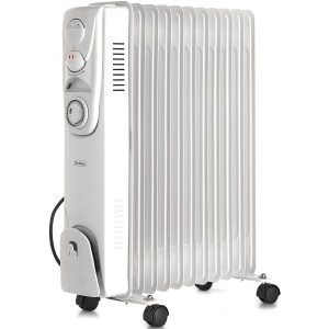 The Vonhaus Oil Filled Radiator Is A Powerful Radiator Featuring Advanced Safety Features And An Adjustable Oil Filled Radiator Radiators Conservatory Heaters