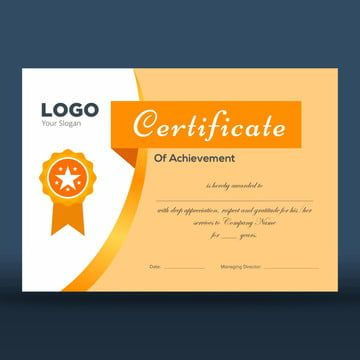 شهادة تقدير قالب تصميم In 2020 Certificate Design Template Certificate Design Design Template