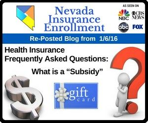 Health Insurance Subsidy Aka Advanced Premium Tax Credit
