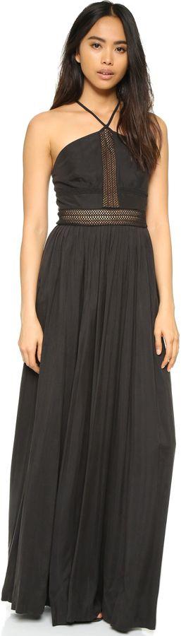 Pretty maxi dress flows with style, STYLESTALKER Night Rider Maxi Dress