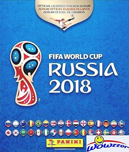 2018 Panini Fifa World Cup Russia Stickers Huge 80 Page Collectors Album With Ten 10 Bonus Stickers Great Collectible To Hold All Your New 2018 Fifa World Cup In 2020 Sticker Album