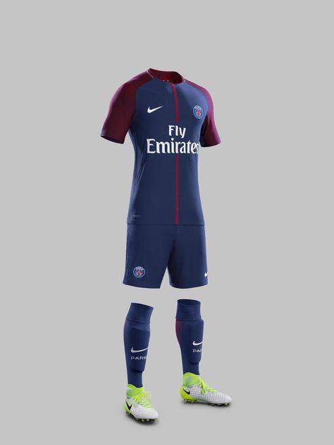 9f624c042 Nike News - Paris Saint-Germain Home Kit 2017-18