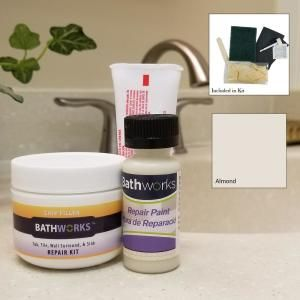 Bathworks 4 Oz Tub And Tile Chip Repair Kit In Almond Crc 204