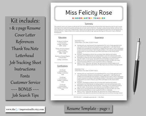 Get your resume to the top of the stack! Just a few steps to - 1 page resume