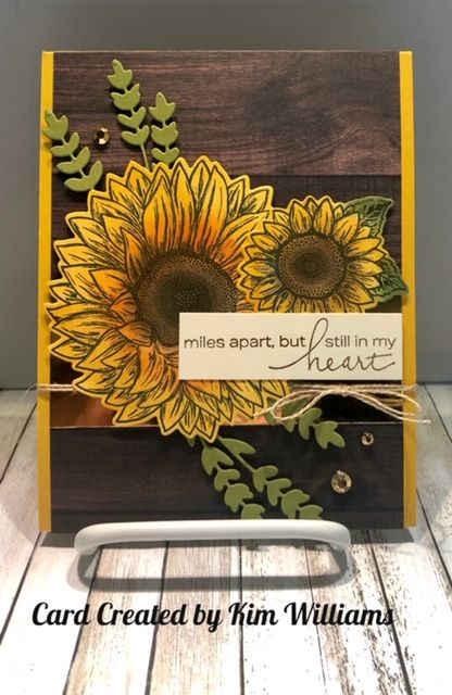 Sunflower Cards, Hand Made Greeting Cards, Card Sentiments, Stamping Up Cards, Thanksgiving Cards, I Card, Get Well Cards, Cards For Friends, Handmade Birthday Cards