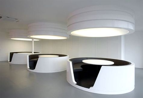 Bureau rond design google zoeken kantoorinrichting office