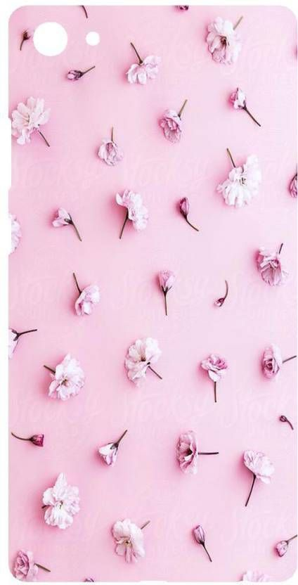 MStyle Back Cover for Vivo Y71 | Beautiful | Pastel pink