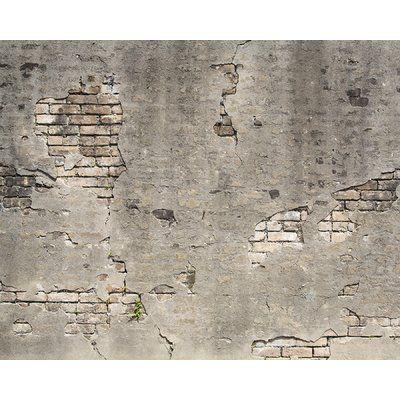 Gracie Oaks Bergin Broken Concrete 9 10 X 85 2 6 Piece Wall Mural Set Wayfair Broken Concrete Concrete Wall Faux Brick Walls