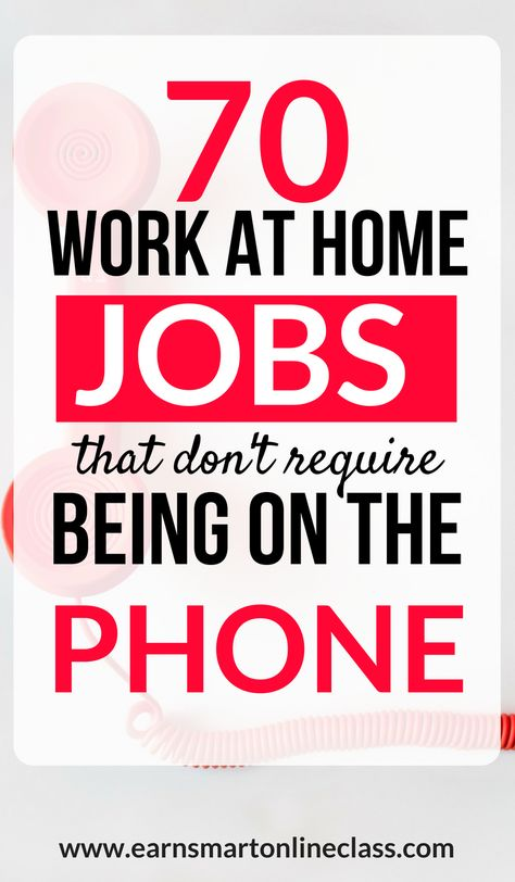 70 Non Phone Work From Home Jobs Hiring Home Jobs Work From
