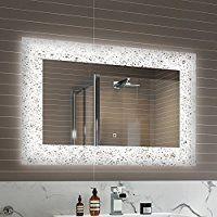 500 X 700 Mm Modern Illuminated Battery Led Light Bathroom Mirror Mc158 Bathroom Dec Bathroom Mirror Lights Led Mirror Bathroom Mirror With Lights