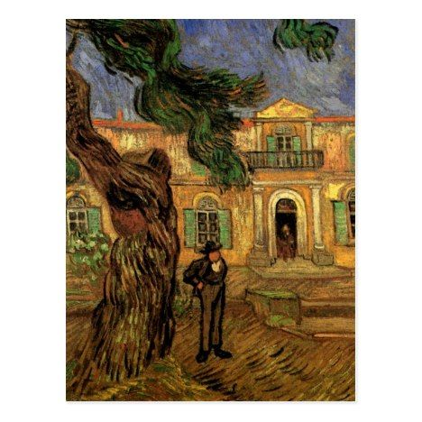 Study of Pine Trees by Vincent Van Gogh Giclee Fine Art Print Repro on Canvas