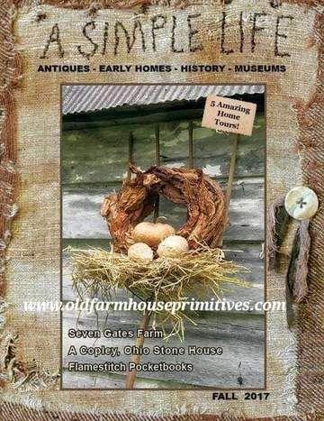 Primitive Magazines Old Farmhouse Primitives Primitive Decorating Primitive Homes Decor