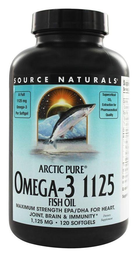 Source Naturals Arcticpure Omega 3 Fish Oil Omega 3 Fish Oil Fish Oil Fish Oils Supplements