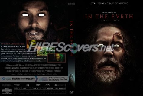 DVD Cover Custom DVD covers BluRay label movie art - DVD CUSTOM Covers - I / In The Earth (2021)