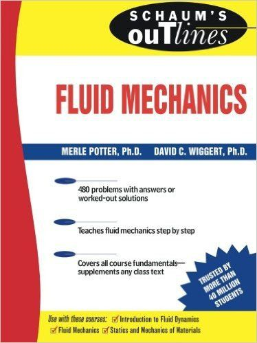 schaum's outline of fluid mechanics and hydraulics PDF | manuales