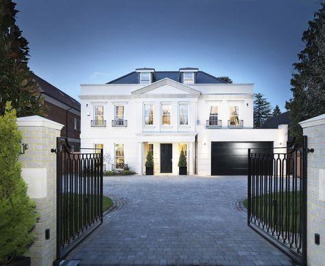 Hill Is An Award Winning Top 15 Uk Housebuilder Hill Specialises In Developing Modern Beau Luxury Homes Exterior Modern Bungalow Exterior Modern Beach House