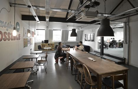loft style office. liverpool warehouse converted into offices by snook architects and loft style office l