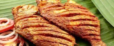 السمك المقلي Best Fried Fish Recipe Spice Recipes Goan Recipes