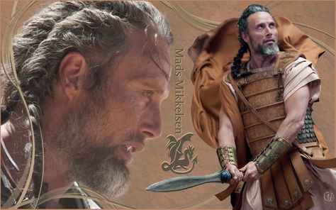 Mads Mikkelsen Wallpaper: Mads Mikkelsen in Clash of the titans