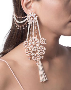 earrings and bracelet Sahara necklace set