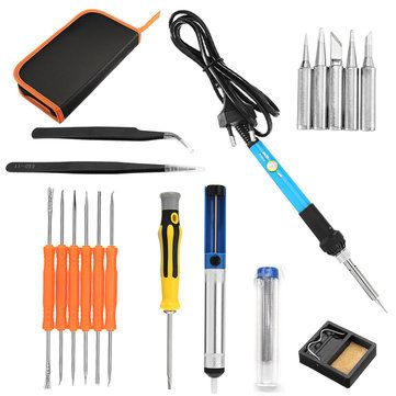 60W 110V//220V Electric Soldering Iron 200℃-450℃ Range Adjustable Welding Tools