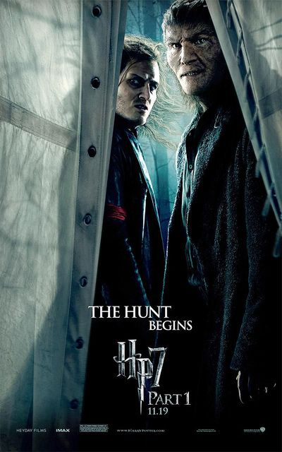 The Hunt Begins Harry Potter And The Deathly Hallows Part 1 Deathly Hallows Part 1 Harry Potter Poster Harry Potter Movies