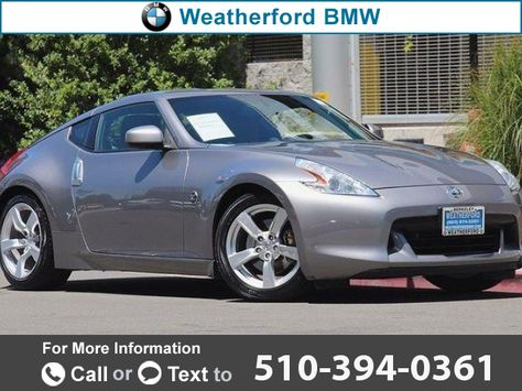 2010 *Nissan*  *370Z* *2dr* *coupe* *Manual* *Touring*  28k miles Call for Price 28173 miles 510-394-0361 Transmission: Automatic  #Nissan #370Z #used #cars #WeatherfordBMW #Berkeley #CA #tapcars