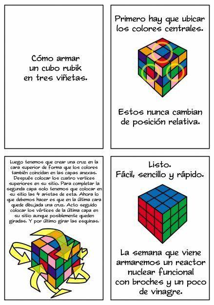 El Manual Definitivo Para Armar Un Cubo De Rubik Y No Fallar En El Intento Gaming Logos Logos Language