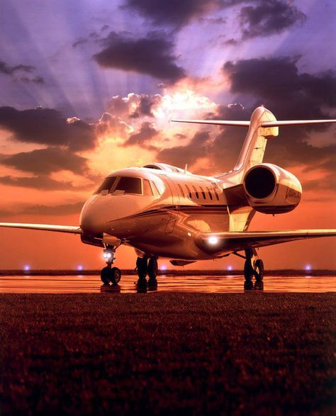 Cessna Citation X - World's fastest private jet. Only second in speed to the now defunct Concorde.