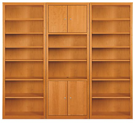 Room Board Woodwind 86h Bookcase Wall Units Modern Bookcases Shelving Modern Office Furniture In 2020 Bookcase Wall Wall Unit Bookcase Wall Unit
