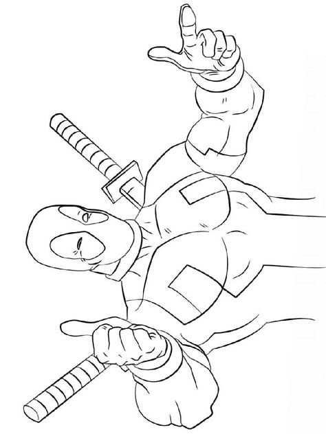 Funny Deadpool Coloring Pages Coloring Ideas Coloring Pages Coloring Pages For Kids Color