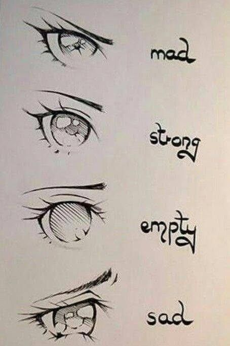 Photo In 2020 Anime Eye Drawing Anime Drawings Sketches Drawing Expressions