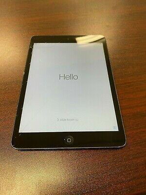 Apple Ipad Mini 1st Gen 16gb Wi Fi 7 9in Black Apple Ipad Mini Ipad Mini Tablet