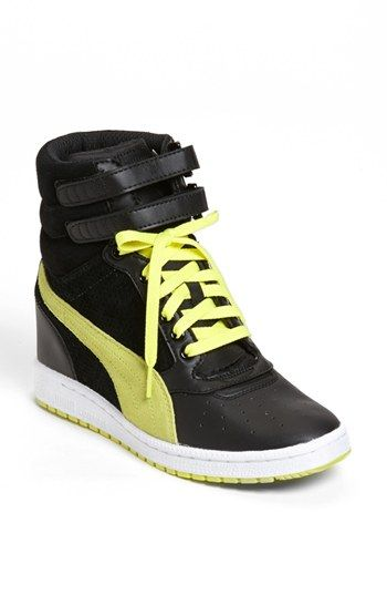 PUMA 'Sky Wedge' Sneaker (Women) available at #Nordstrom