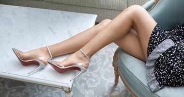 8 مشاكل صحية تمنعك من ارتداء أحذية ذات كعب عالى Studded Ankle Boots Christian Louboutin Louboutin