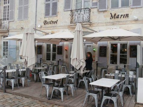 Le Bistrot du Marin, restaurant St Martin, Ile de Re