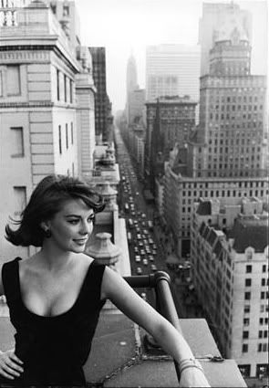 Natalie Wood, had a huge crush on her ever since the Wild One and Splendor in the Grass...She is incredibly beautiful to me.