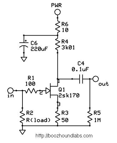 JFET Moving Coil (MC) Pre-Preamp Kit Schematic | Kit, Math on