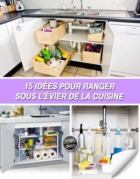 15 idees pour bien ranger le chaos sous le lavabo de la cuisine inspirez vous