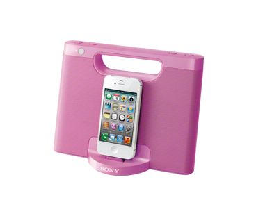 Portable and pink! #PinItToGiveIt
