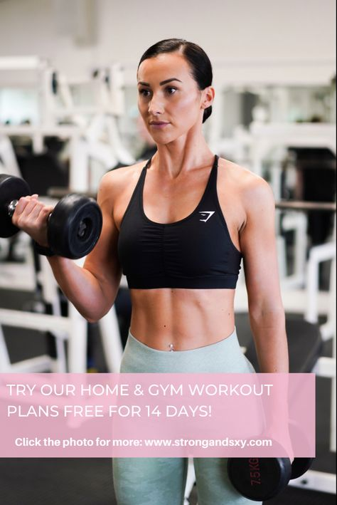 Are tou ready to start your health and fitneas journey? 💪🏼💗 Click the photo to try our Home and Gym Workout Plans free for 14 days 👆🏼#workoutplan #exerciseplan #fitnessplan #homeworkout #gymworkout