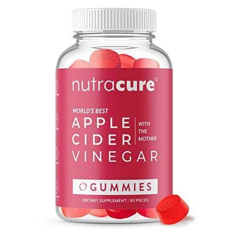 Nutracure Apple Cider Vinegar Gummies For Detox Cleanse Weight Mana Climbie Best Apple Cider Vinegar Gummy Vitamins Apple Cider Vinegar Pills