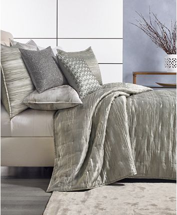 Hotel Collection Iridescence King Coverlet Created For Macy S Reviews Quilts Bedspreads Bed Bath Macy S Hotel Collection Mattress Furniture Bedding Collections
