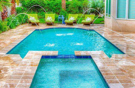 Small Backyard Swimming Pool Ideas Specific Design Tips With Photos Swimming Pools Backyard Pools Backyard Inground Inground Pool Designs
