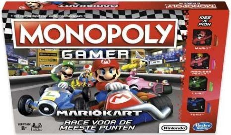 Monopoly Gamer Mario Kart E1870 Mario Kart Monopoly Monopolie Spel